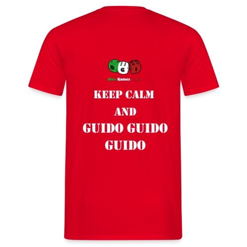 Keep calm and call guido guido guido - Maglietta da uomo