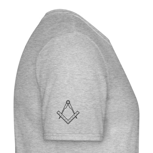 Square and compass (sleeve) - Men's T-Shirt