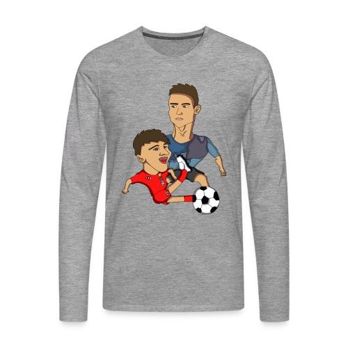 Langermet t-skjorte - Premium langermet T-skjorte for menn