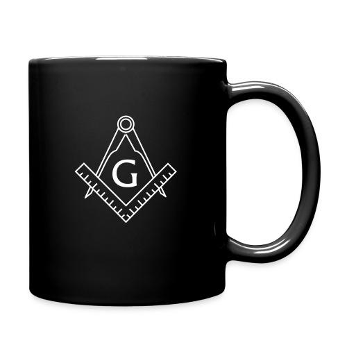 Masonic Coffee Mug (black) - Full Colour Mug