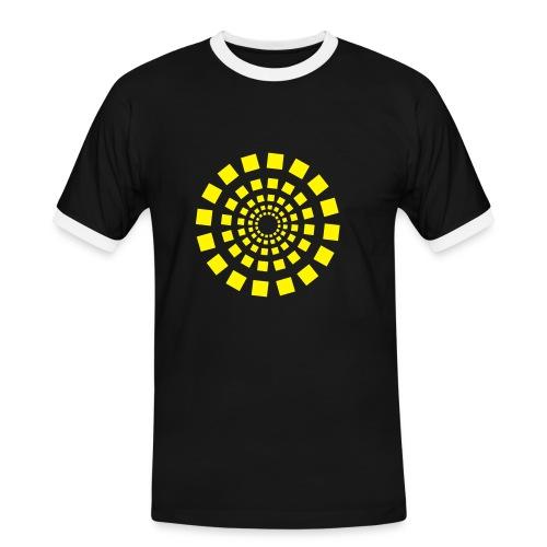 Circle 3 - Männer Kontrast-T-Shirt
