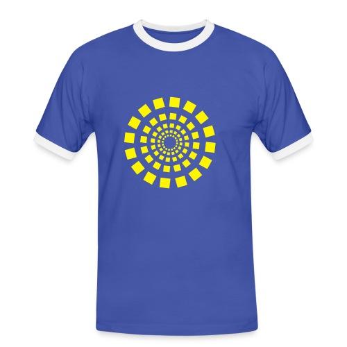 Circle 2 - Männer Kontrast-T-Shirt