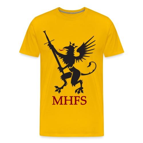Klubbtshirt herr - Premium-T-shirt herr