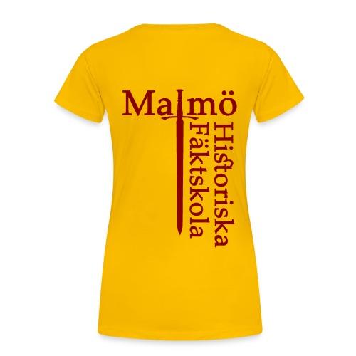 Klubbtshirt dam - Premium-T-shirt dam