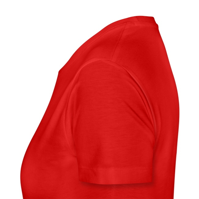 T-shirt Femme - Calligramme Flèche saignante (blanc)