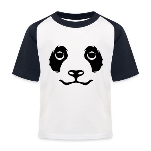 T-shirt tete panda - T-shirt baseball Enfant
