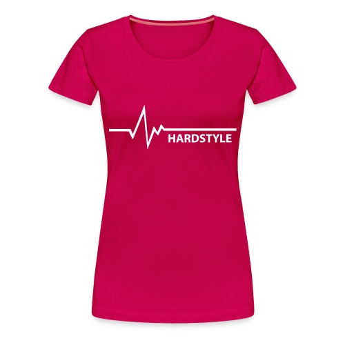 Hardstyle is my style (V) - Vrouwen Premium T-shirt