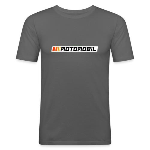 Moto-Shirt-02 - Männer Slim Fit T-Shirt