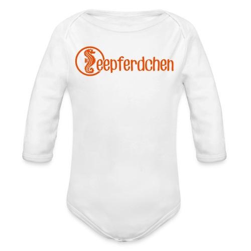 Seepferdchen - Baby Bio-Langarm-Body
