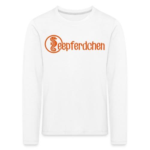 Seepferdchen - Kinder Premium Langarmshirt