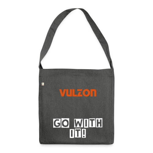 Vulzon-GoWithIt-Recycling-Bag - Schultertasche aus Recycling-Material