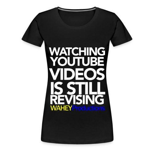 Revising Sass-Tee (Female) - Women's Premium T-Shirt