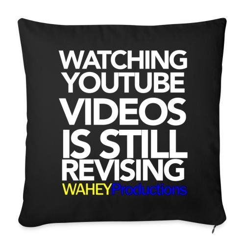 Revising Sass-Cushion - Sofa pillowcase 17,3'' x 17,3'' (45 x 45 cm)