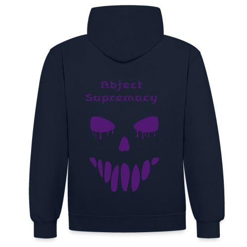 Abject Supremacy Devil Edition Hoodie - Contrast Colour Hoodie