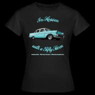 T-Shirts ~ Women's T-Shirt ~ Womens T-shirt | Blue 57 Chevy | Classic American Automotive