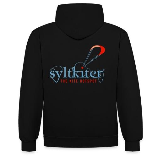 Syltkiter Kontrast- Kapuzenpullover - Kontrast-Hoodie