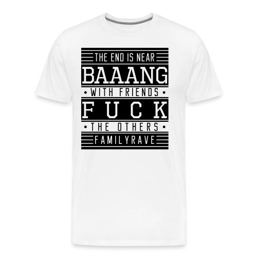 Premium T-Shirt // FUCK (Logo schwarz) - Männer Premium T-Shirt