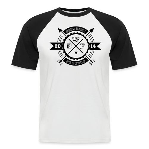 Baseballshirt // BWF 2k14 (Logo schwarz) - Männer Baseball-T-Shirt