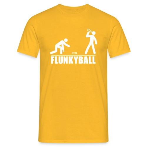 Flunkyball - Männer T-Shirt