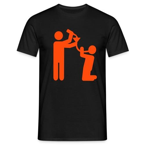 Bierbong - Männer T-Shirt