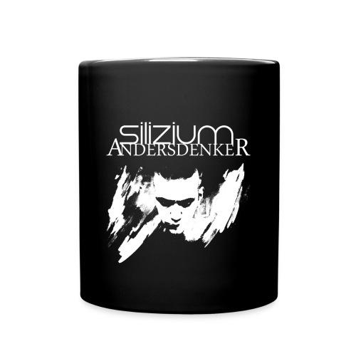 Tasse einfarbig - silizium,andersdenker