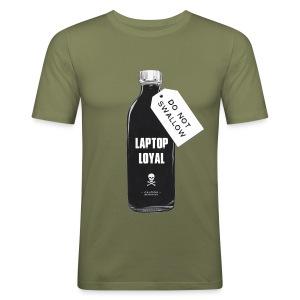 Laptop Loyal - Men's Slim Fit T-Shirt