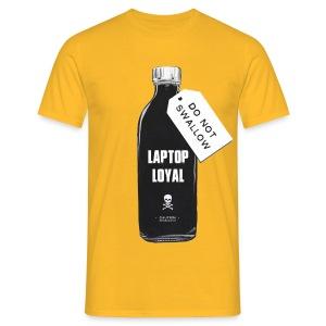 Laptop Loyal - Men's T-Shirt