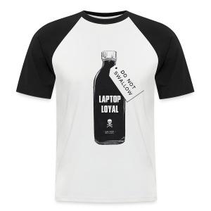 Laptop Loyal - Men's Baseball T-Shirt