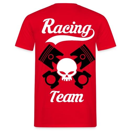 Skull racing team - Men's T-Shirt
