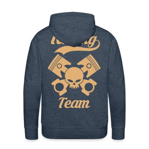 Skull racing team - Men's Premium Hoodie