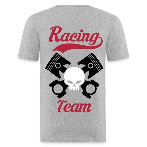 Skull racing team - Men's Slim Fit T-Shirt