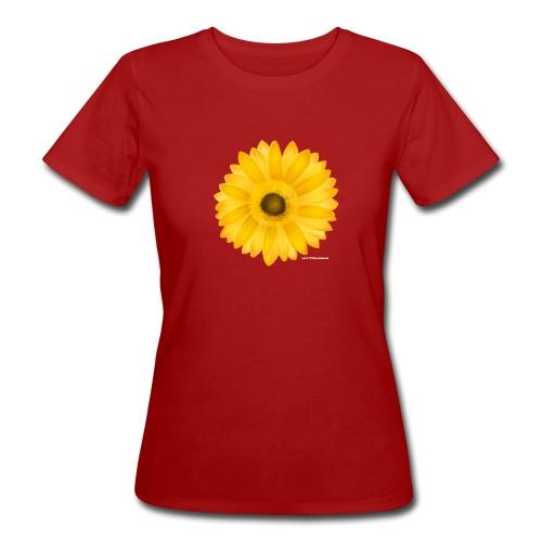 T-Shirt Sunflower - Frauen Bio-T-Shirt