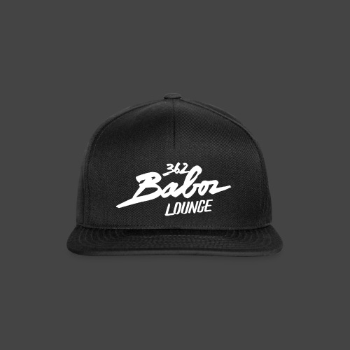 362 Baboz Lounge Snapback Cap - Snapback Cap