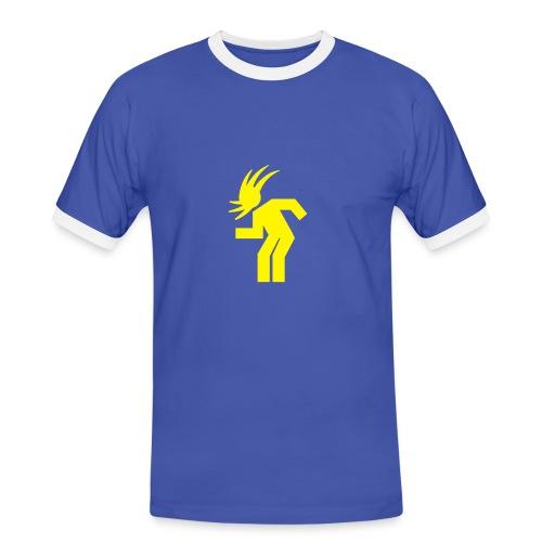 headbanging - Männer Kontrast-T-Shirt