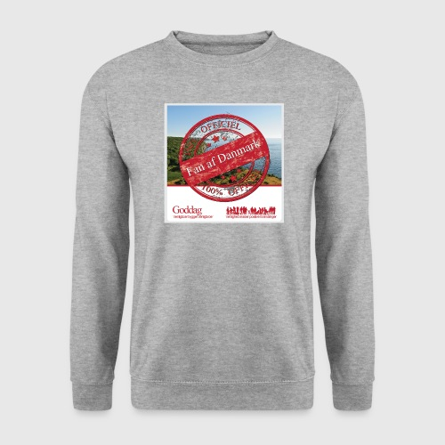 Mens Sweatshirt  - 100% Fan - Herre sweater