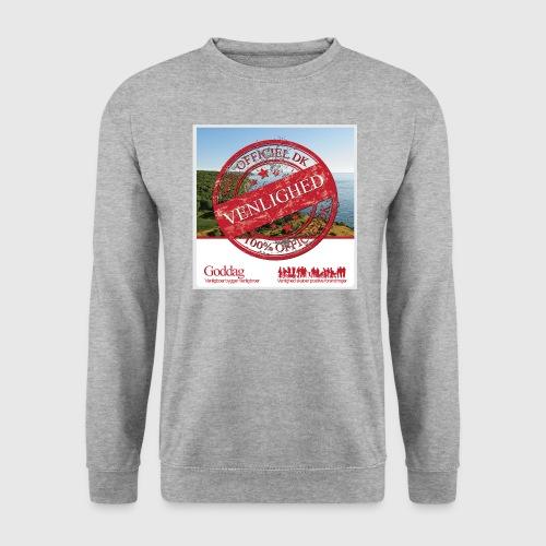 Mens Sweatshirt  - 100% dk venlighed - Herre sweater