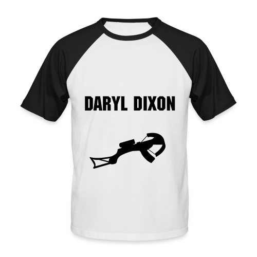 T-shirt Homme- Daryl Dixon - T-shirt baseball manches courtes Homme