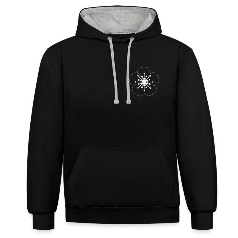 8PWC Kontrast Sweater - Kontrast-Hoodie
