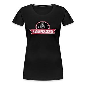 raggarradio dam - Premium-T-shirt dam