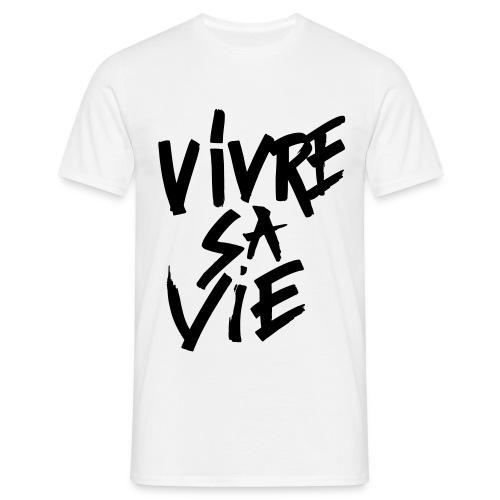 Vivre sa vie BW - T-shirt Homme