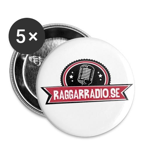 raggarradio - knapp - Små knappar 25 mm (5-pack)