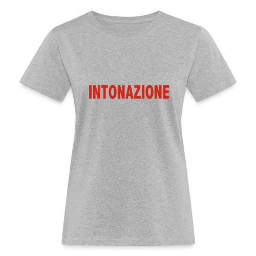 Intonazione grey female - Frauen Bio-T-Shirt