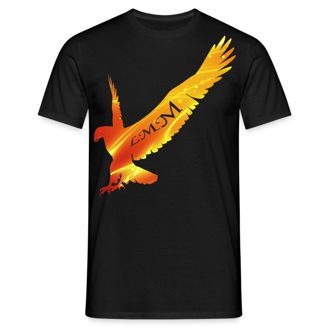 """T-shirt homme noir """"Aigle LMM"""""""