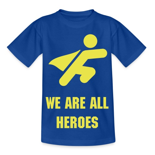 'We Are All Heroes' Years 3-8 T-Shirt - Kids' T-Shirt
