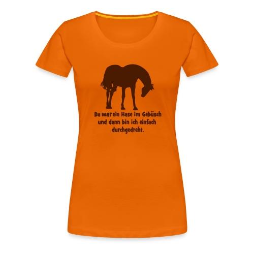 durchgedreht - Frauen Premium T-Shirt