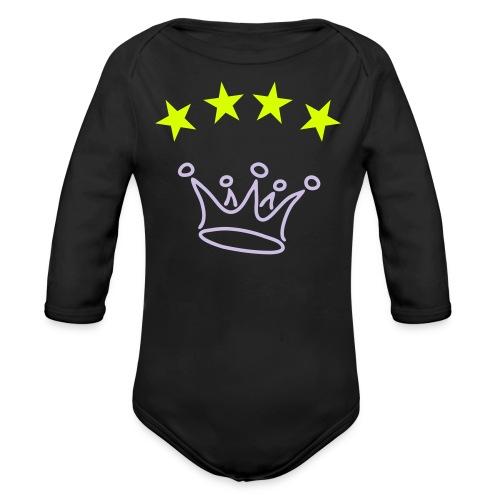Baby Langarm Body für Mädchen - Baby Bio-Langarm-Body