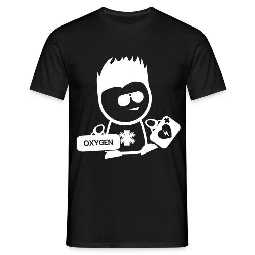 Retter-Sani-Nerd - Männer T-Shirt
