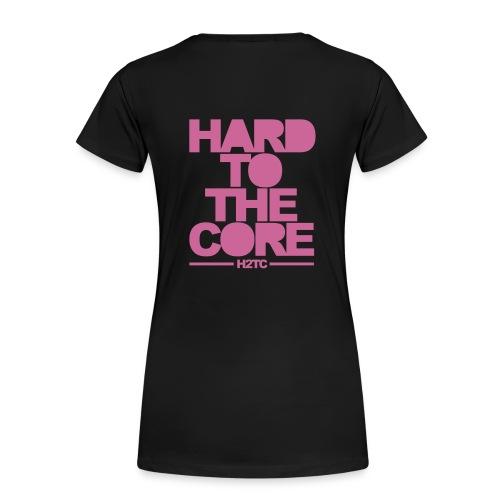Hard to the core - Vrouwen Premium T-shirt