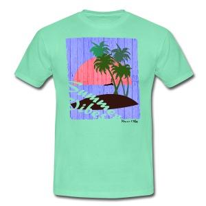 The summer vibes! - Mannen T-shirt