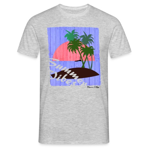 The summer vibes! - Mannen T-shirt